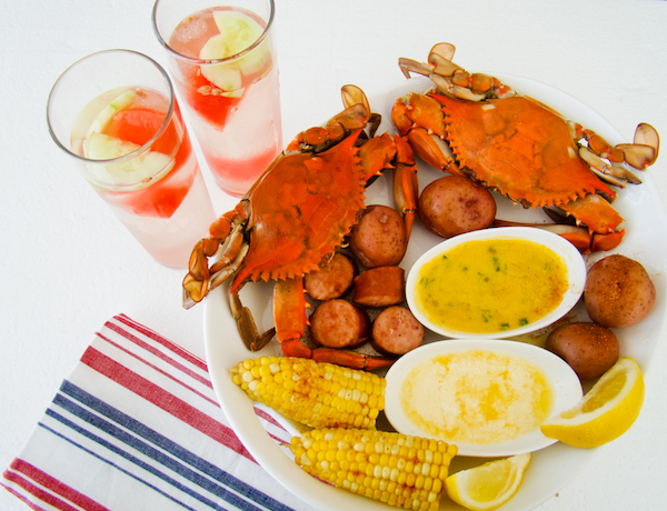 A Crab Bake Summer Foods Maryland