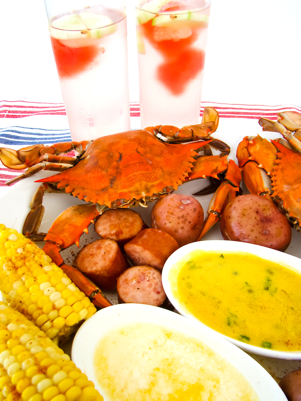 Old Bay Maryland Steamed Crabs